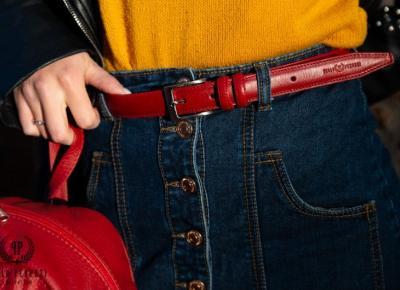 Jak dobrać odpowiedni damski pasek do spodni? | Zuzka Pisze