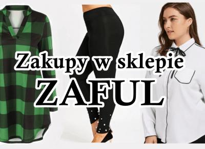 Zielona krata, biała koszula i legginsy - haul ZAFUL | Zuzka Pisze