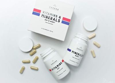 Naturalne witaminy i minerały bez sztucznych dodatków - CHEERS  | Zuzka Pisze