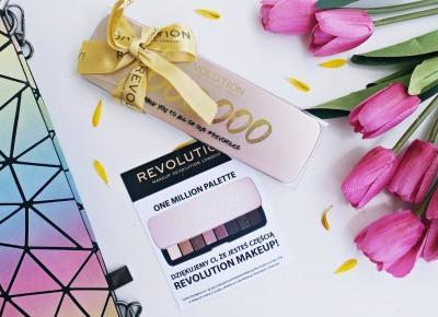 One Milion Palette - Makeup Revolution London |   Zuzka Pisze