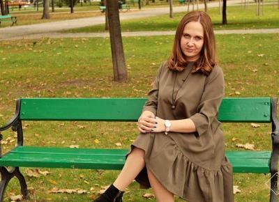 Sukienka trapezowa o luźnym kroju Ooh La La - AvocadoStyle | Zuzka Pisze