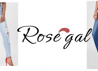 Jeansy z Rosegal