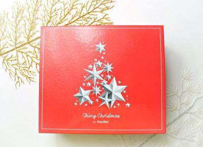 SHINY CHRISTMAS - openbox pudełka SHINYBOX - GRUDZIEŃ 2018 | Zuzka Pisze