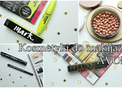 Kosmetyki do makijażu AVON | Zuzka Pisze