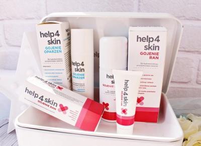 Niezbędnik w domowej apteczce - produkty Help4Skin | Zuzka Pisze