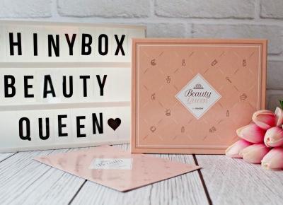 ShinyBox Beauty Queen - openbox marcowego pudełka - 2019 | Zuzka Pisze