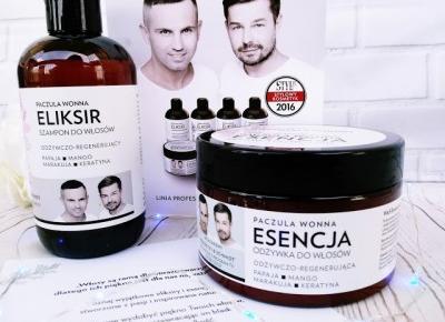 ZuzkaPisze: WS Academy- Paczula Wonna- Eliksir i Esencja do włosów