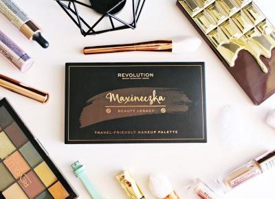 MAXINECZKA BEAUTY LEGACY Travel-Friendly makeup palette - Makeup Revolution |   Zuzka Pisze