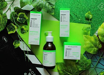 Kosmetyki do pielęgnacji twarzy REVOLUTION SKINCARE - MOOD / ANGRY | Zuzka Pisze - strona typowo kobieca - porady, recenzje, wskazówki