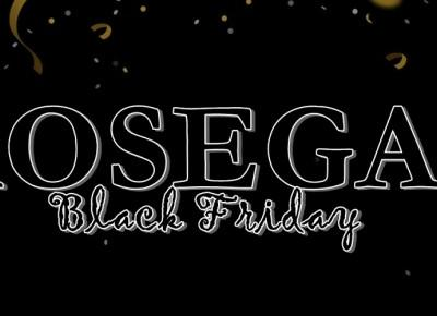 Promocje Black Friday w ROSEGAL