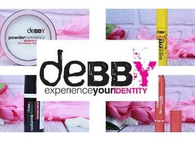 Kosmetyki kolorowe dla kobiet nowoczesnych - DEBBY | Zuzka Pisze