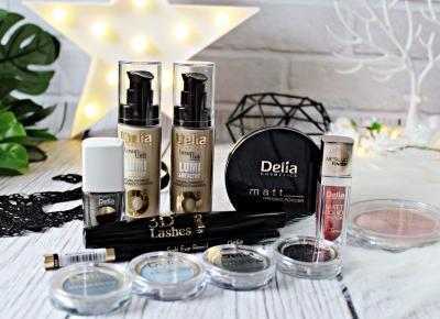 Kolorówka od DELIA cosmetics   Zuzka Pisze