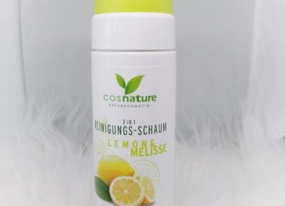 Naturalna pianka oczyszczająca 3 w 1 z cytryną i melisą - ZuzkaPisze