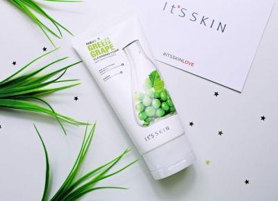 IT'S SKIN Have a Greengrape Cleansing Foam Pianka do mycia twarzy | Zuzka Pisze