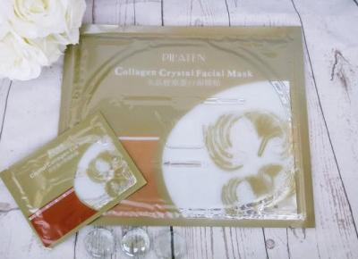 ZuzkaPisze: Pilaten Collagen Crystal Facial & eye Mask