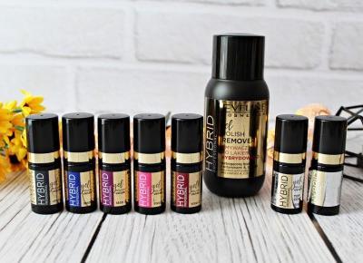 Lakiery Hybrydowe HYBRID PROFESSIONAL EVELINE Cosmetics  | Zuzka Pisze