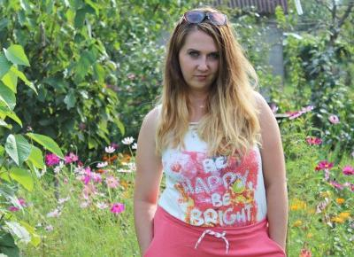 Top ze sztrasami + spódnica dresowa BONPRIX | Zuzka Pisze