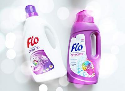 FLO Hybrid Color i FLO Oxy Power - świeże i czyste pranie | Zuzka Pisze