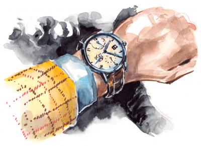 Limitowane męskie zegarki na rękę | Zuzka Pisze