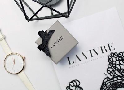 Uwodzicielski luksus - kolczyki srebrne z białą cyrkonią - LA VIVRE | Zuzka Pisze