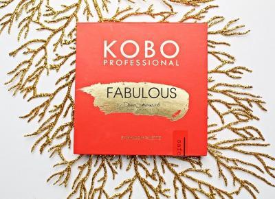 Kobo Professional FABULOUS by Daniel Sobieśniewski - paleta cieni z limitowanej edycji  | Zuzka Pisze
