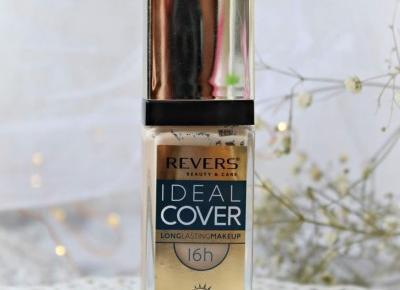 Długotrwały podkład silnie kryjący IDEAL COVER - Revers Cosmetics | Zuzka Pisze