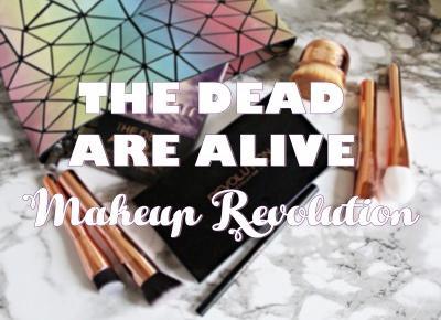 the dead are alive - Makijaż z użyciem paletki od MAKEUP REVOLUTION
