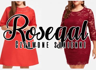 Czerwone sukienki ROSEGAL | Zuzka Pisze
