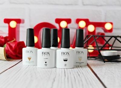 NOX Nails - HIPOALERGICZNE lakiery hybrydowe | Zuzka Pisze