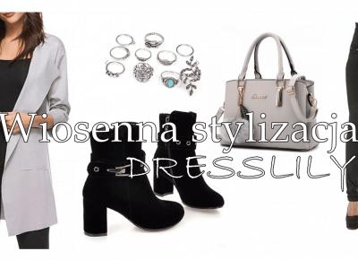 Wiosenna stylizacja z Dresslily | Zuzka Pisze