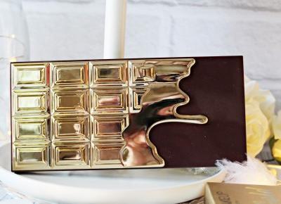 NOWOŚĆ! I HEART CHOCOLATE - 24K GOLD - Paleta cieni - Makeup Revolution |   Zuzka Pisze