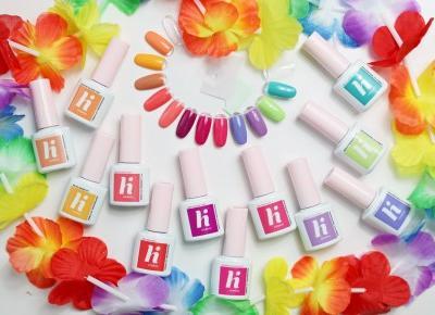 Przywołaj lato z lakierami hybrydowymi HI HYBRID i kolekcją VIBES | Zuzka Pisze