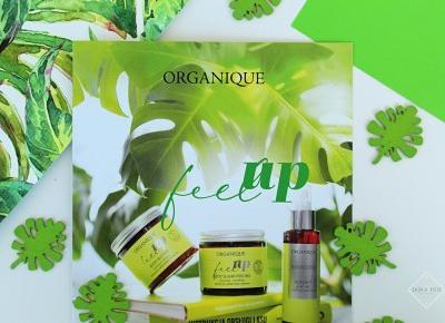 Terapia energetyzująca do ciała i włosów - kosmetyki ORGANIQUE FEEL UP | Zuzka Pisze