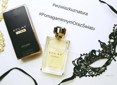 Woda toaletowa ORIFLAME ECLAT Femme + Co zrobić z pustym flakonem po perfumach? | Zuzka Pisze