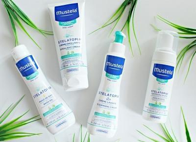 Stelatopia® - linia kosmetyków przeznaczona do skóry atopowej marki Mustela® | Zuzka Pisze