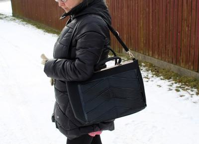 TORBA DAMSKA SHOPPER BAG MICHELLE BLACK - Brytyjka.pl | Zuzka Pisze
