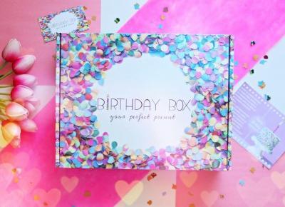 Birthday Box BASIC - świetny prezent na urodziny i nie tylko | Zuzka Pisze