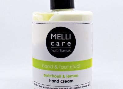Krem do rąk PATCHOULI & LEMON - MELLI CARE