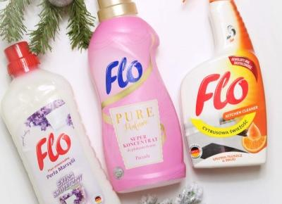 Niezawodna pomoc w świątecznych porządkach - środki czystości FLO | Zuzka Pisze