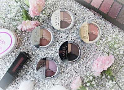 SENSIQUE Sensitive Skin - Creative Eyeshadows - potrójne cienie do powiek | Zuzka Pisze