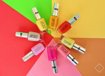 SENSIQUE COLOR - kolorowe lakiery do paznokci | Zuzka Pisze