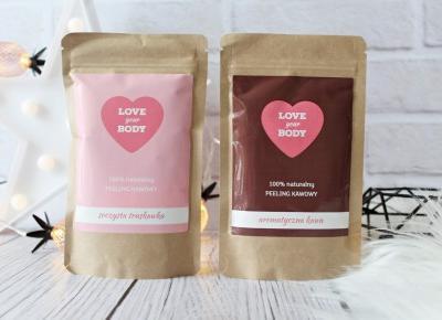 Soczysta truskawka, aromatyczna kawa - PEELING KAWOWY - LOVE YOUR BODY | Zuzka Pisze