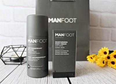 ManFoot - Produkty stworzone dla męskich stóp | Zuzka Pisze