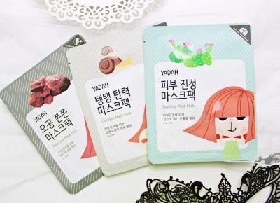 YADAH - koreańskie maseczki do twarzy - NOWOŚĆ! | Zuzka Pisze