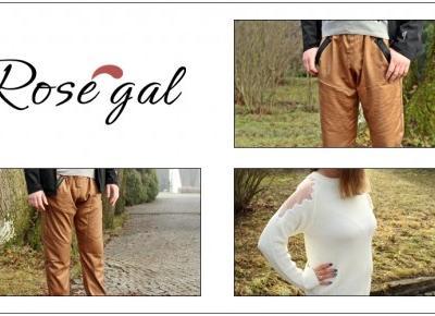 Sweterkowa sukienka z koronką i męskie spodnie jogger ze sklepu ROSEGAL + zniżka na zakupy | Zuzka Pisze