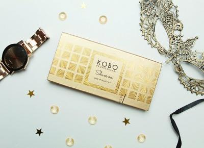 KOBO Professional SHINE ON Makeup Beauty Set - Paleta 6 cieni do powiek z rozświetlaczem | Zuzka Pisze