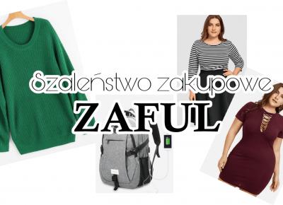 Szaleństwo zakupowe ZAFUL - haul | Zuzka Pisze