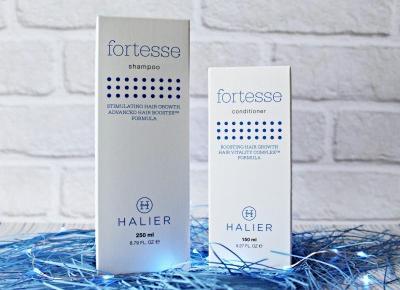 Halier Fortesse - wzmocnij i odbuduj swoje włosy   Zuzka Pisze