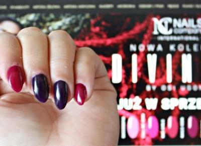 Jesienna elegancja z kolorami Say My Name & Bad Girls z nowej kolekcji DIVINITY by Osi Ugonoh - Nails Company | Zuzka Pisze