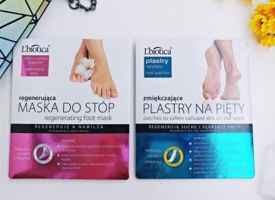 Idealnie miękkie i wygładzone stopy w jeden wieczór? To możliwe z produktami od L'biotica | Zuzka Pisze